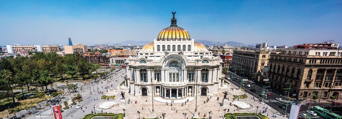 Foto panoramica de Ciudad de México