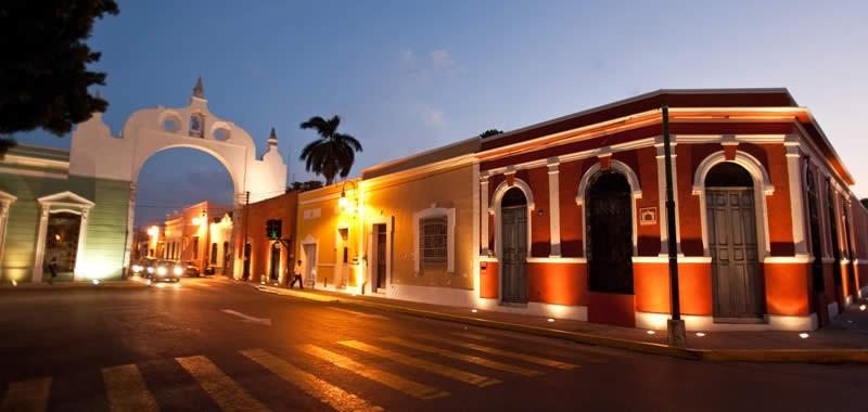 Foto panoramica de Merida