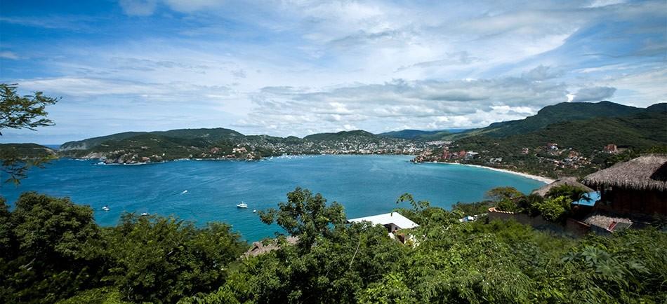 Foto panoramica de Zihuatanejo
