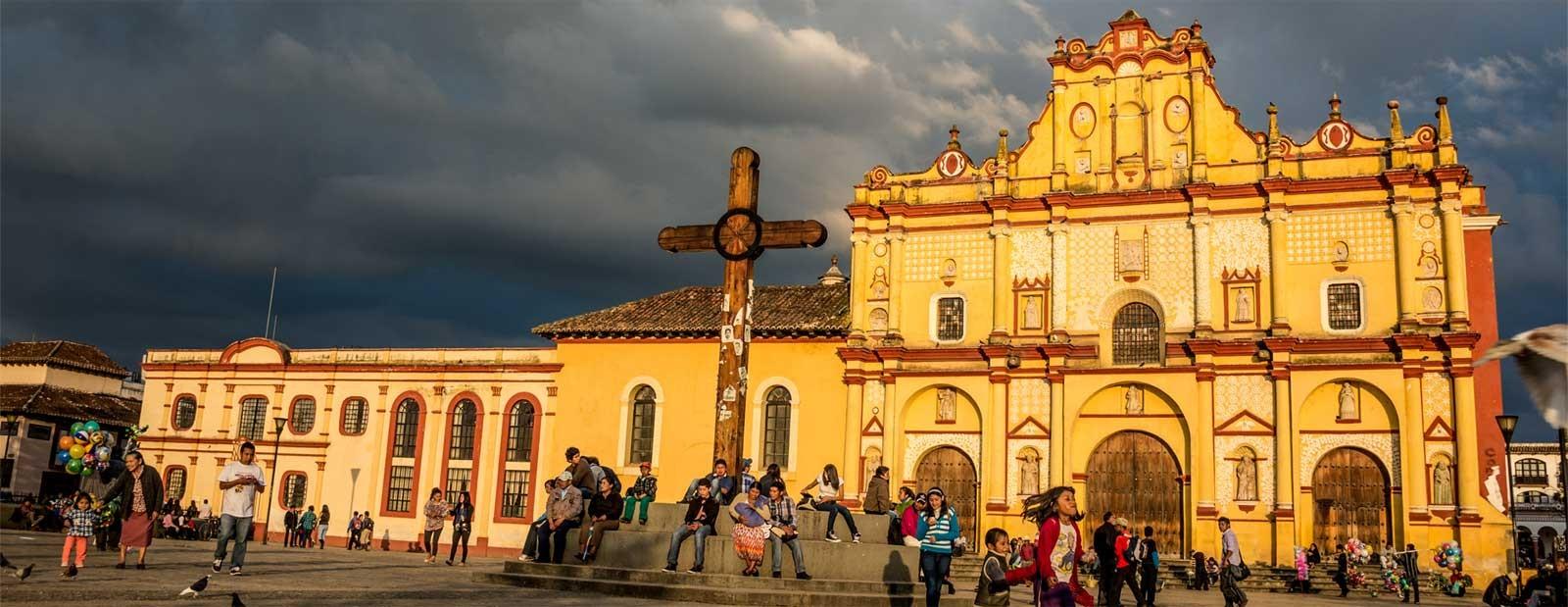 Foto panoramica de San Cristobal de las Casas
