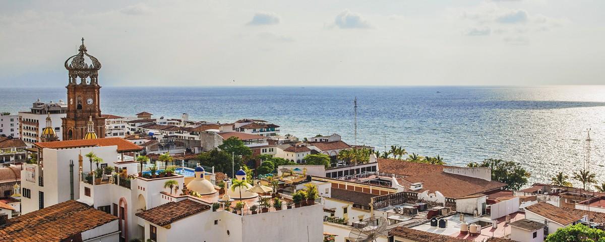 Foto panoramica de Puerto Vallarta