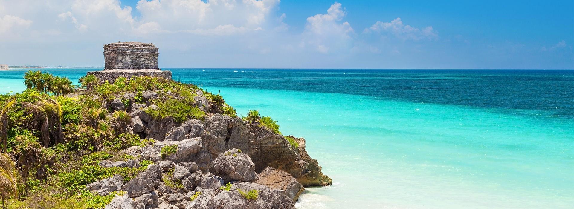 Foto panoramica de Riviera Maya