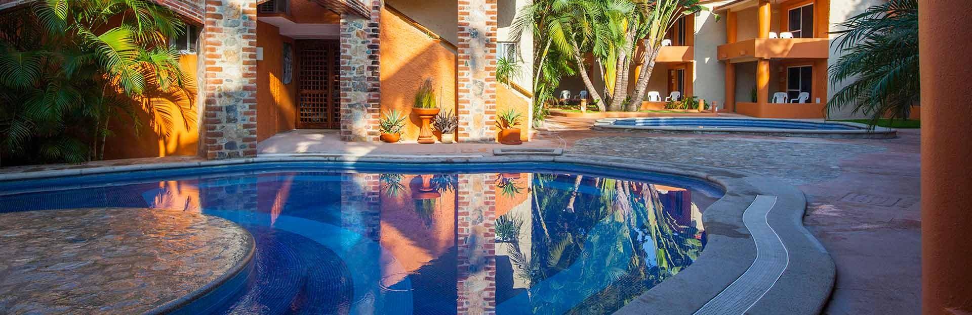 Panoramica del hotel Villa Mexicana