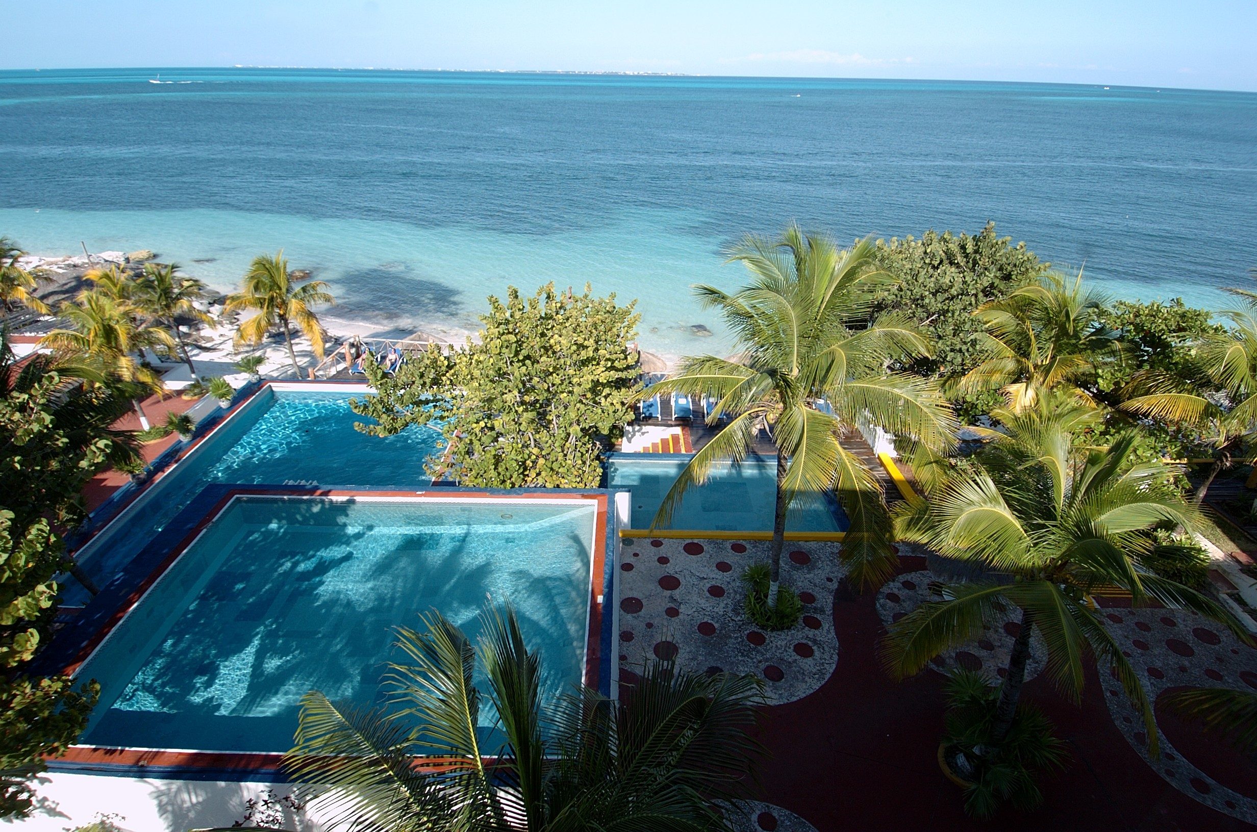 Panoramica del hotel Maya Caribe Beach House by Faranda Hotels