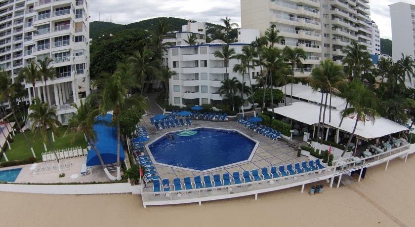 Panoramica del hotel Malibu Acapulco