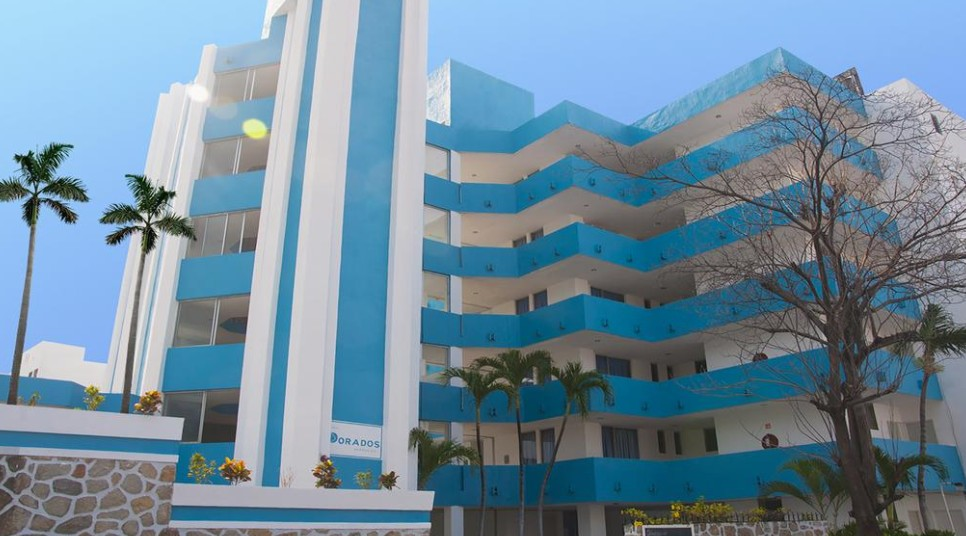 Panoramica del hotel Dorados Acapulco