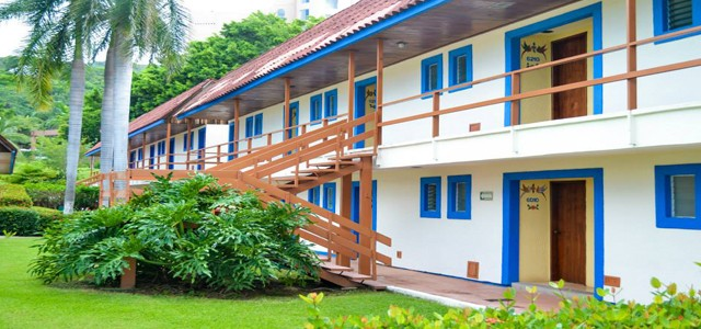 Panoramica del hotel Qualton Club Ixtapa