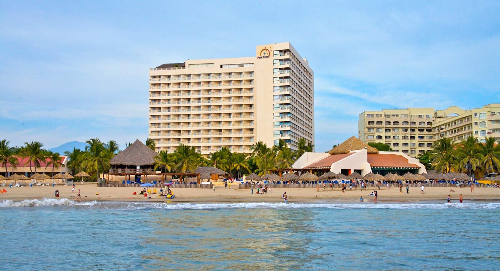 Panoramica del hotel Park Royal Ixtapa