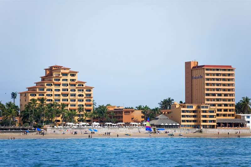 Panoramica del hotel Costa de Oro Beach Hotel