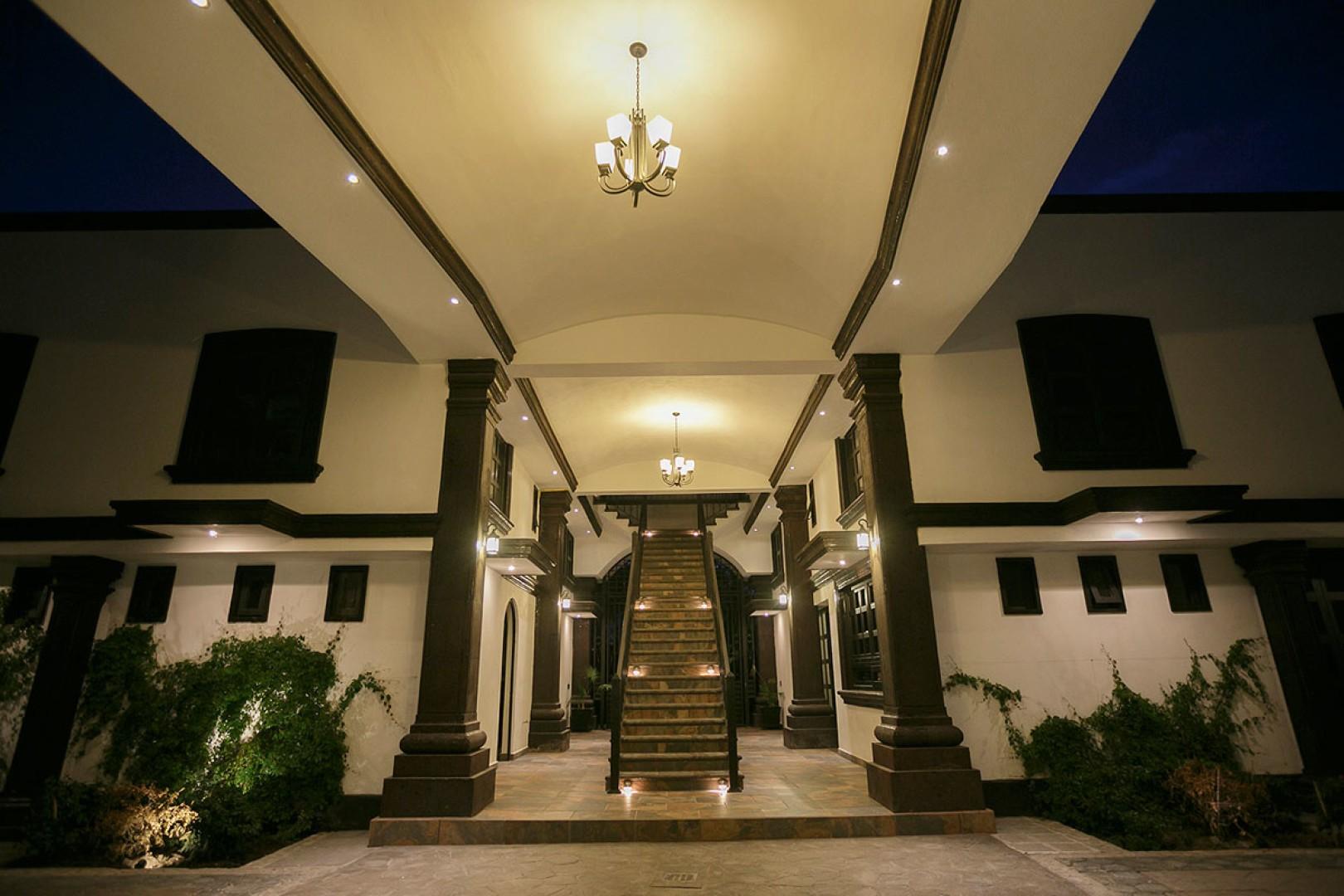 Panoramica del hotel The Latit