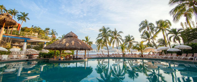 Panoramica del hotel Park Royal Beach Resort Acapulco