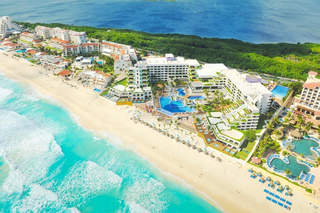 Panoramica del hotel Grand Oasis Sens