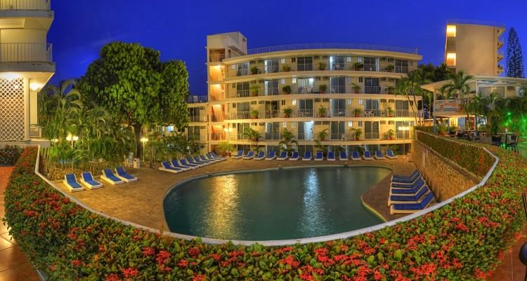 Panoramica del hotel Alba Suites Acapulco