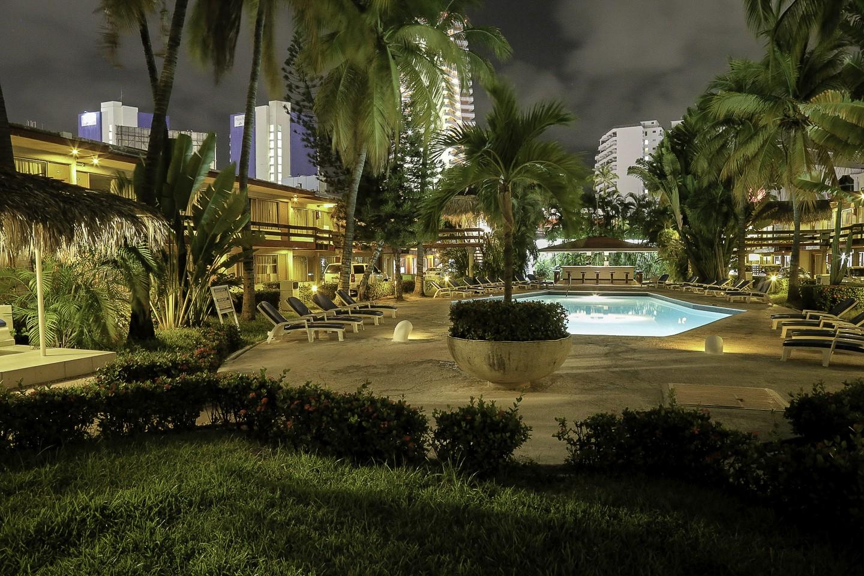 Panoramica del hotel Bali-Hai