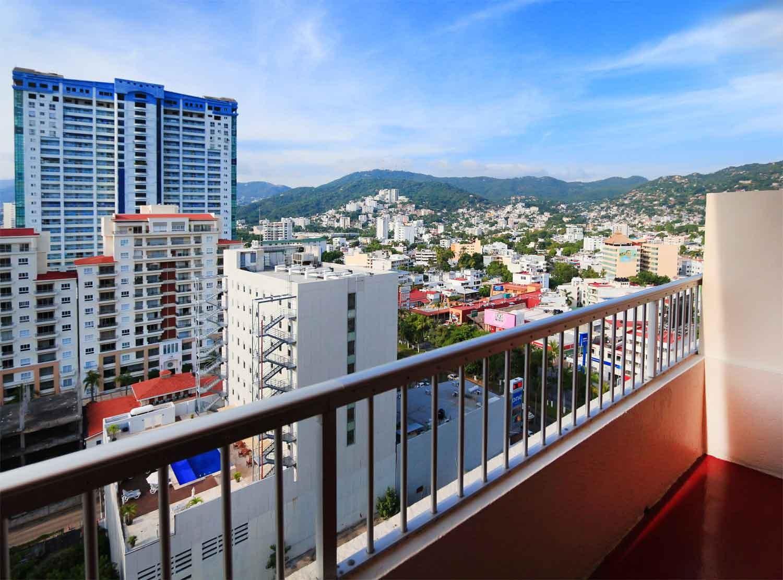 Panoramica del hotel Amarea Hotel Acapulco (antes Casa Inn)