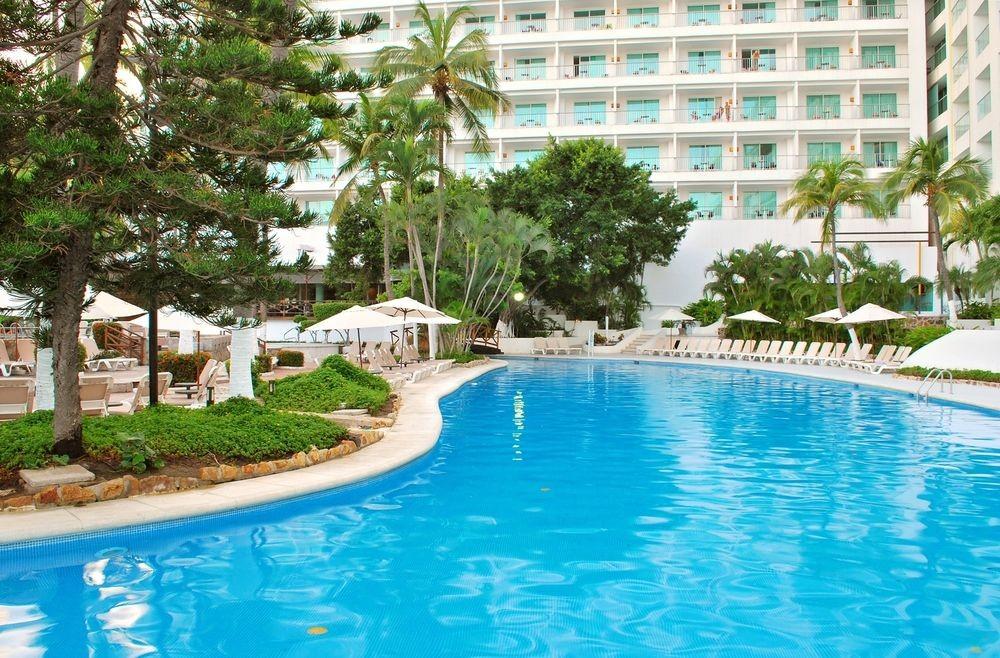 Panoramica del hotel Emporio Acapulco