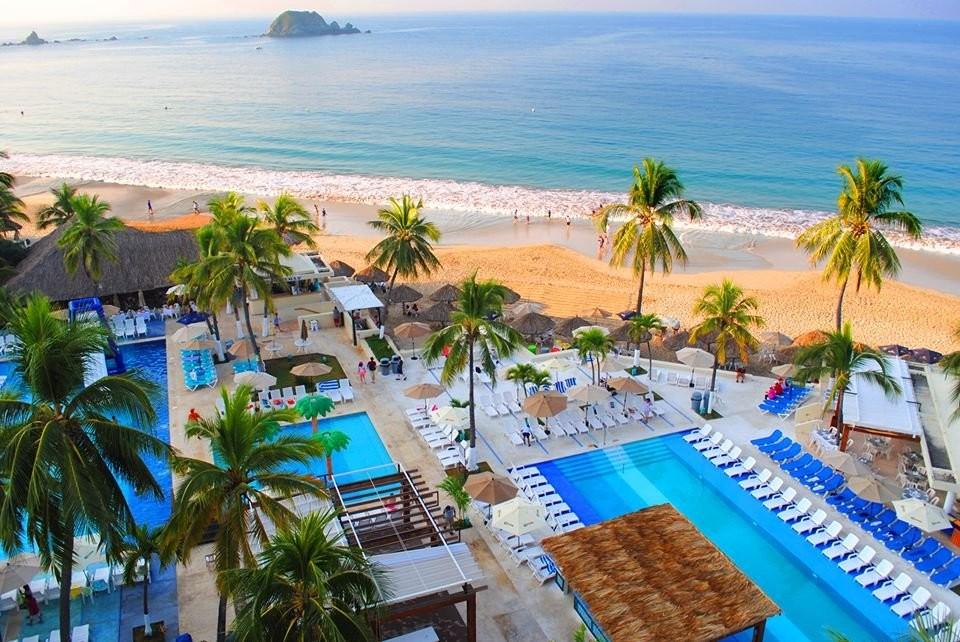 Panoramica del hotel Fontán Ixtapa