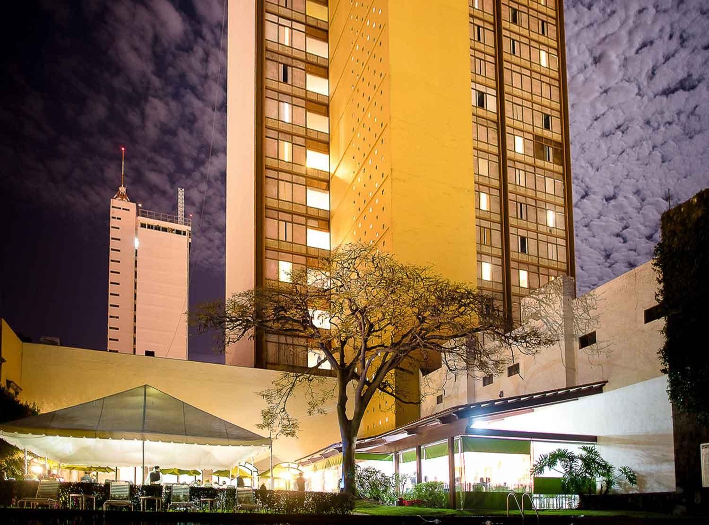 Panoramica del hotel Misión Guadalajara Carlton