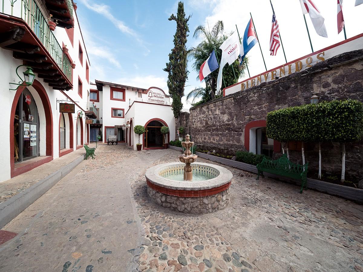 Panoramica del hotel Hotel Mision Guanajuato