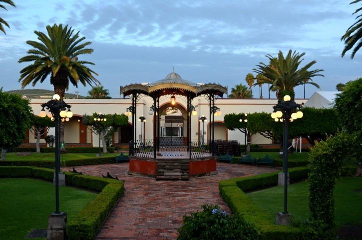 Panoramica del hotel Misión Juriquilla Queretaro