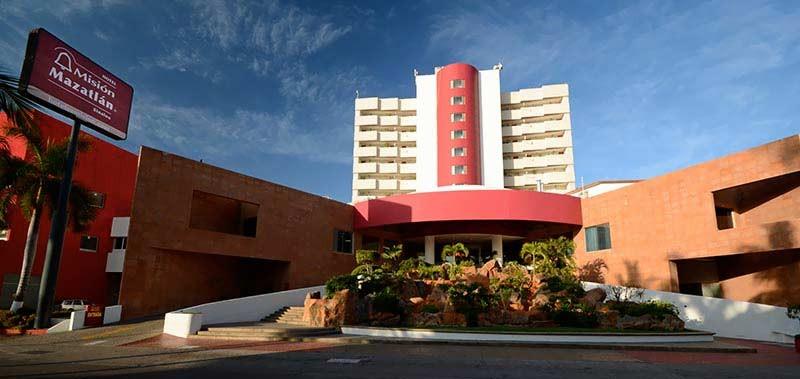 Panoramica del hotel Misión Mazatlán