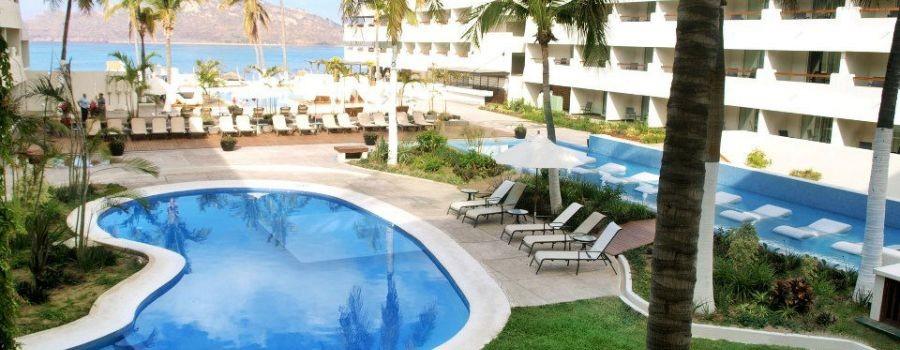 Panoramica del hotel Emporio Mazatlán