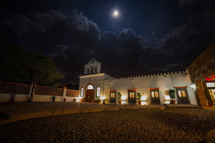 Panoramica del hotel Misión La Muralla