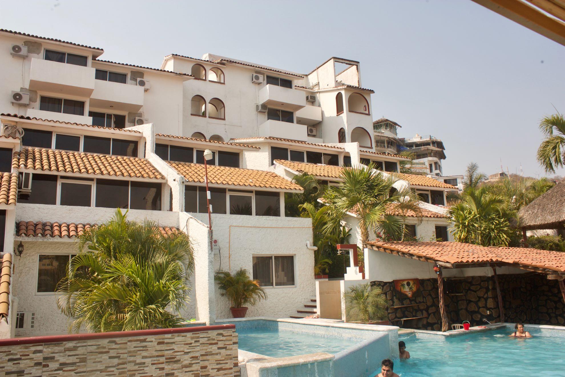 Panoramica del hotel Yamba Acapulco