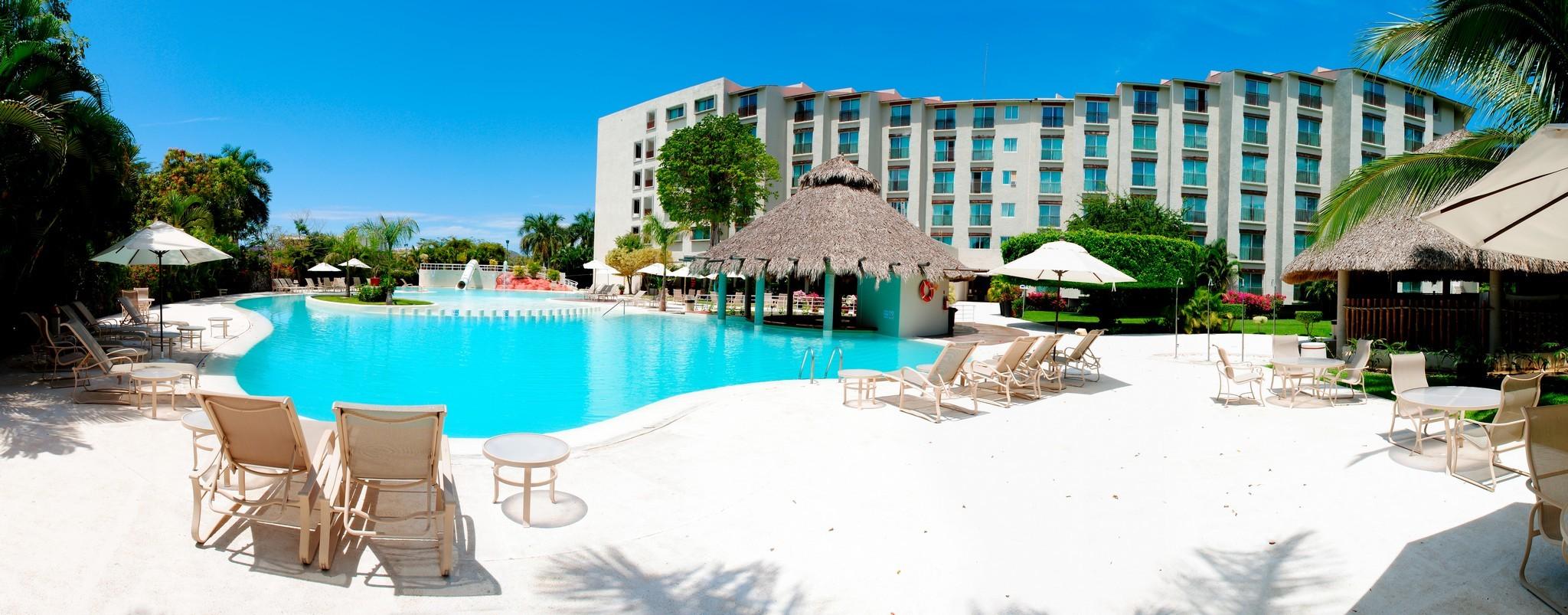 Panoramica del hotel Gamma de Fiesta Inn Plaza Ixtapa
