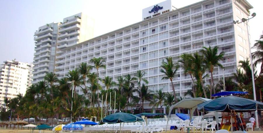 Panoramica del hotel Elcano Acapulco
