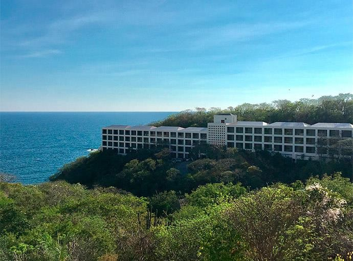 Panoramica del hotel Isla Natura Beach Huatulco