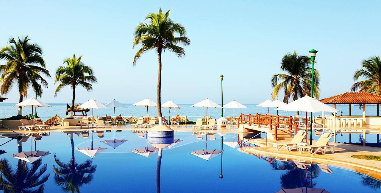 Panoramica del hotel Krystal Ixtapa