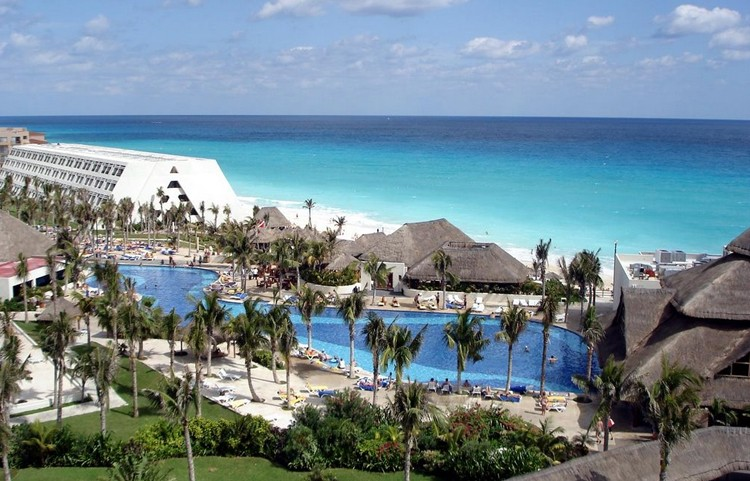 Panoramica del hotel Oasis Cancún Lite