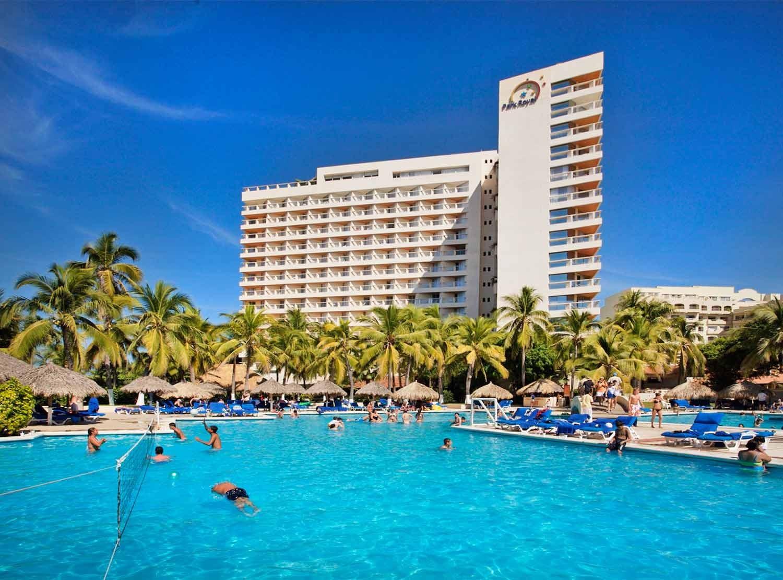 Panoramica del hotel Park Royal Beach Resort Ixtapa