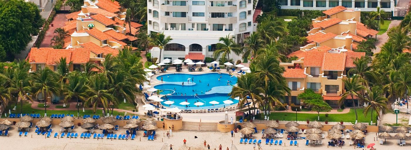 Panoramica del hotel Tesoro Ixtapa