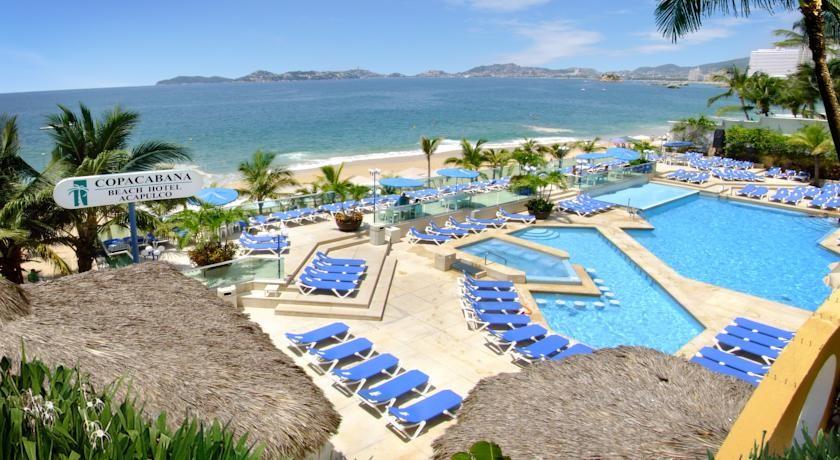 Panoramica del hotel Copacabana Beach Acapulco